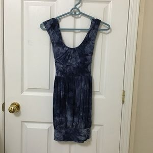 ⭐️2/$20 Costa Blanca Blue Tie Dye Dress